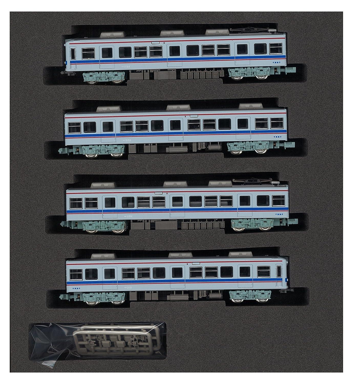 Chiba Kyuko Type 3150 Four Car Formation Set (w/Motor) (Model Train) Green Max 4326