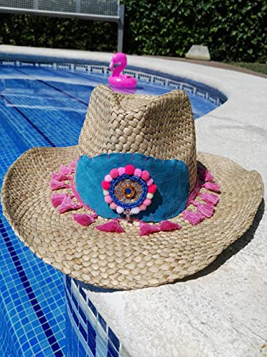 Sombrero de playa étnico 9886c5264fa