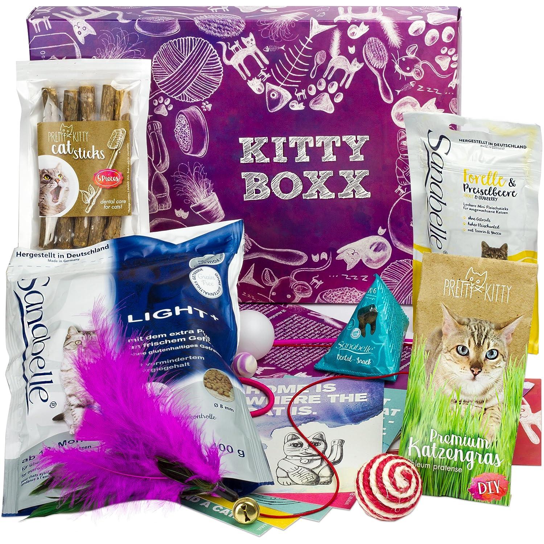BOXX Kitty (13 Teile) Geschenk für Katzenliebhaber - Geschenkbox mit ...