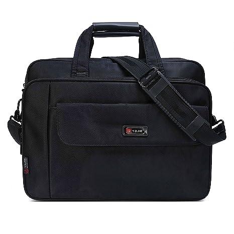 Bolso maletín para ordenador portátil de 15,6 pulgadas,gran capacidad, funda Elegante