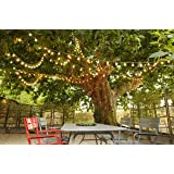 GUIRLANDE LUMINEUSE B22 10 LAMPES LED MULTICOLORE REMPLACABLES
