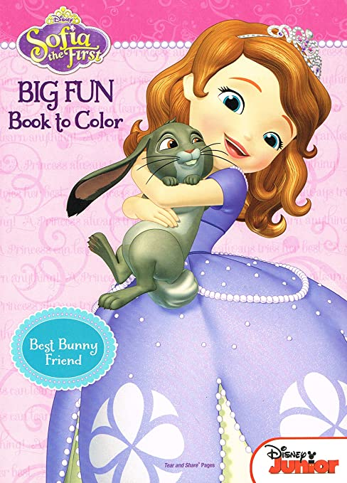 Amazon Disney Sofia The First Coloring And Activity Book Set 2 Books 96 Pgs Each Toys Games