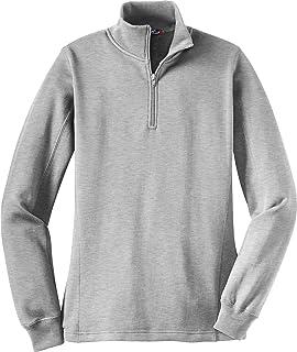 Sport,Tek Women\u0027s 1/4 Zip Sweatshirt