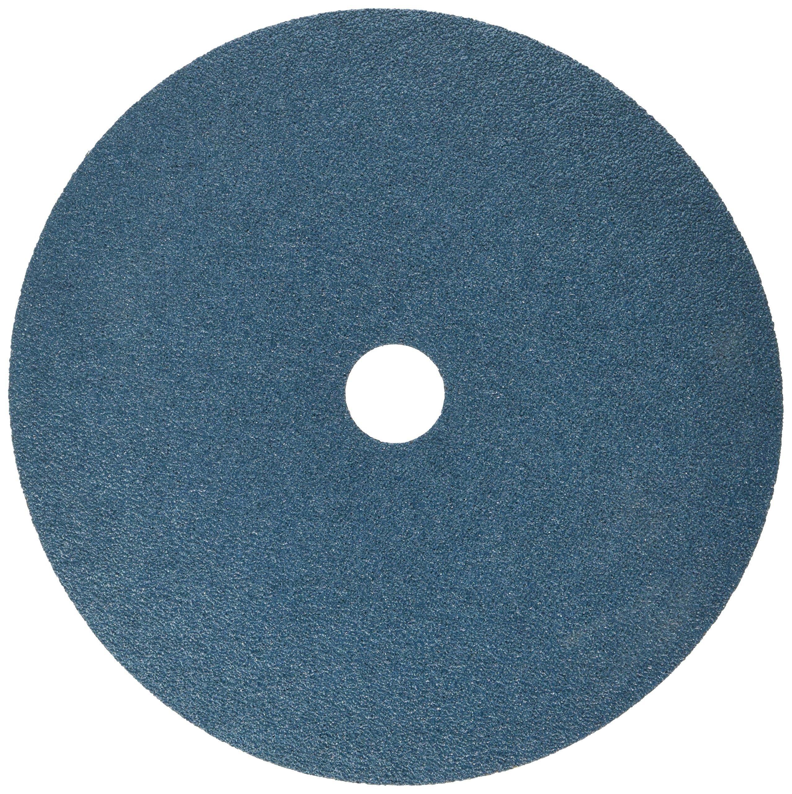 United Abrasives-SAIT 59750 SAIT Fiber Disc, Z 7 X 7/8 50X Blue Line Disc, 25 Pack
