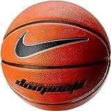 Nike NKNKI0084707 Unisex Adult DOMINATE 8P Basketball - Amber/Black/Mtlc Platinum, One Size