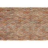 Komar 8–741368x 254cm Brick Wandbild Tapete–Neutral (8-teilig)