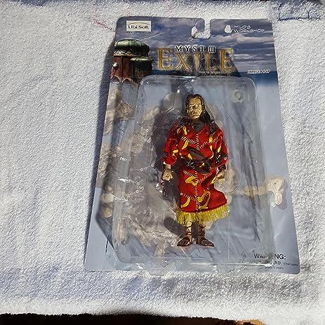 amazon com myst iii exile action figure saveedro toys games