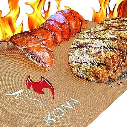 Amazon.com: Kona Tapetes para horno y parrilla, dorado ...