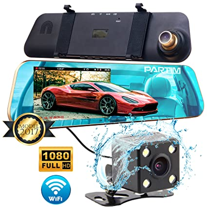 Amazon Com Partim Nx100 Car Camera Dash Cam Front And Rear
