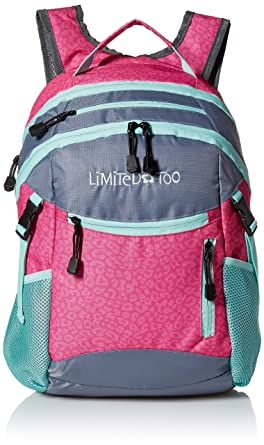 Amazon.com | Limited Too Big Girls Sporty Backpack, Multi, One ...