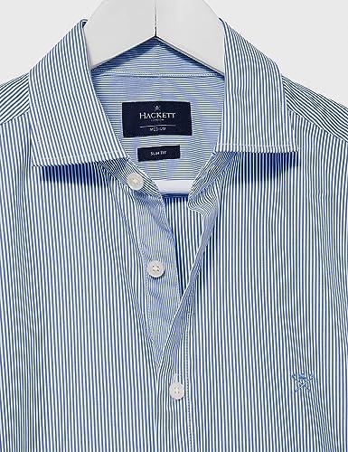 Hackett London Painted Str KS Camisa para Hombre