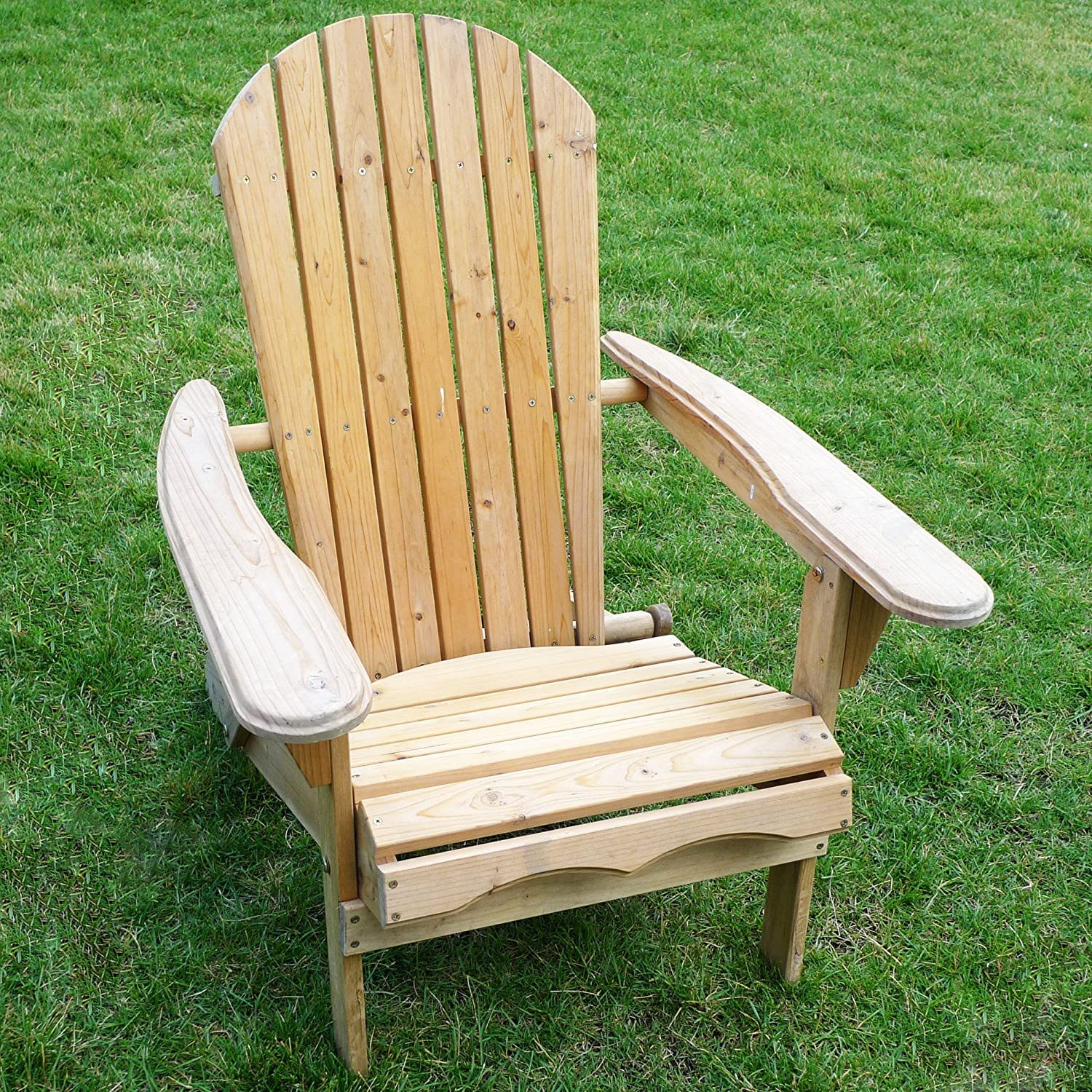 amazoncom merry garden foldable adirondack chair wooden adirondack chair garden u0026 outdoor