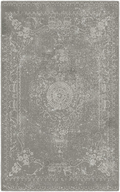 """Brumlow Mills EW10055-40x60 Neutral Distressed Persian Rug, 3'4"""" x 5'"""