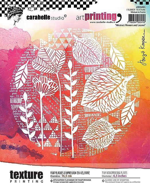 Carabelle Studio Sello de Goma con Textura en Forma Rectangular ...