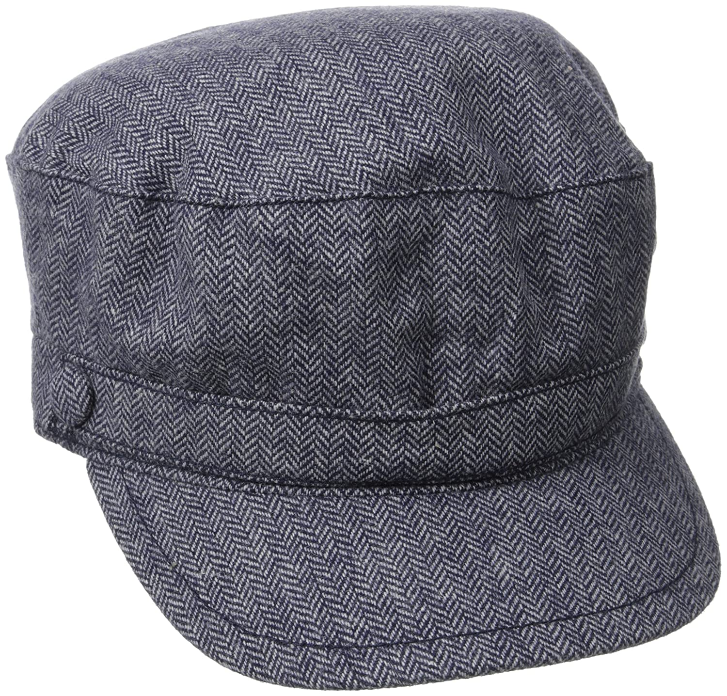 Life is good Women's Mini Herringbone Captains Hat (True Blue), One Size The Life is good Company 26334