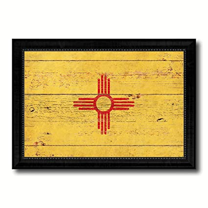 Amazon.com: New Mexico State Vintage Flag Collection Western ...