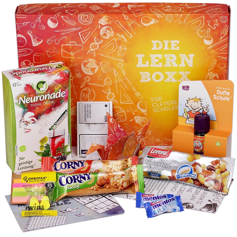Lern Boxx (13 Teile) Geschenk für Schüler - Lernbox zur ...