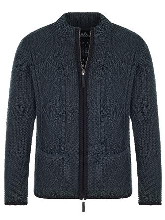 Almbock Strickjacke Reißverschluss Herren   Hochwertige Trachten Strickjacke    Trachtenjacke Männer aus feiner Wolle in vielen Farben von Gr. S - XXXL   ... bab91a8caa