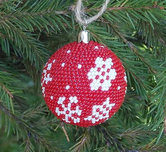 handmade winter holiday gift for brother christmas ornaments crochet snowflake favor home decor wedding - Amazon Christmas Home Decor