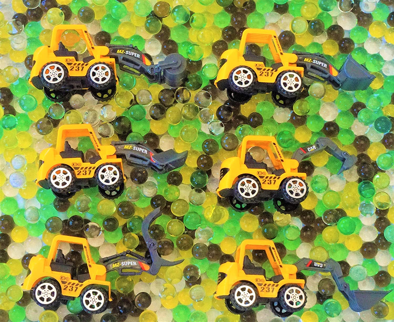 Jungle Themed Sensory Bin Water Beads Toddler Preschool sent dry