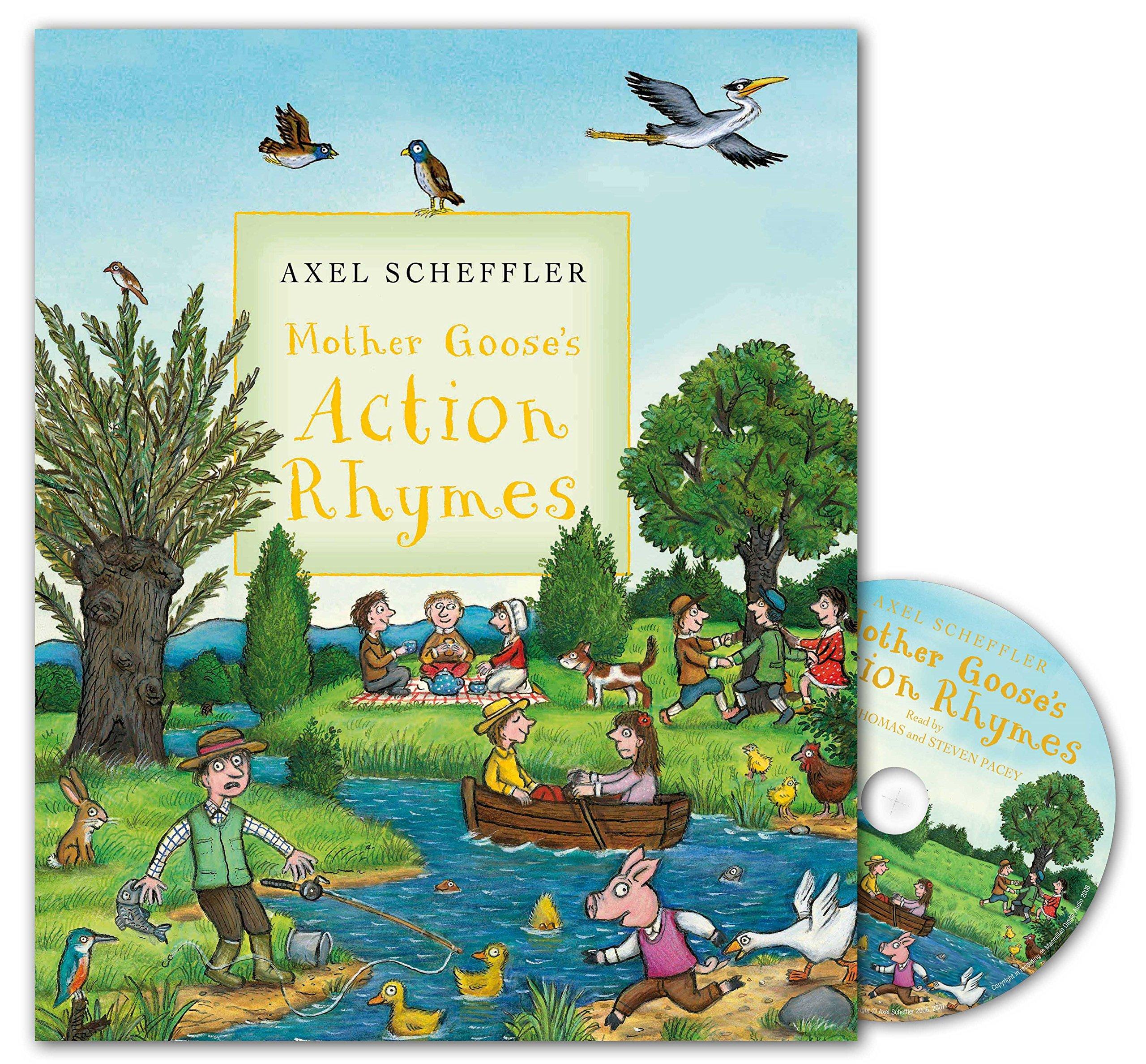 Mother Gooses Action Rhymes Book and CD Pack: Amazon.es: Axel Scheffler, Sian Thomas, Steven Pacey: Libros en idiomas extranjeros