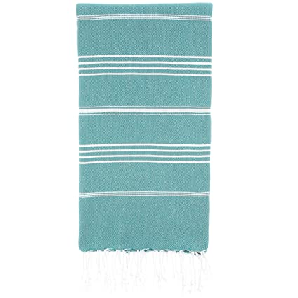 Amazon Com Cacala 100 Cotton Pestemal Turkish Bath Towel 37 X 70