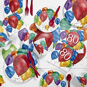 Balloon Blast 50th Birthday Lunch Napkins 16 Pack Party Decoration