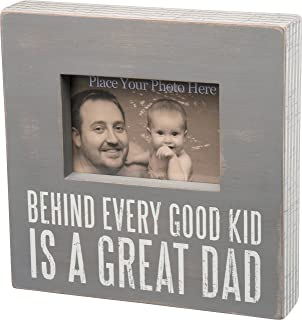 primitives by kathy good kid great dad gray box frame