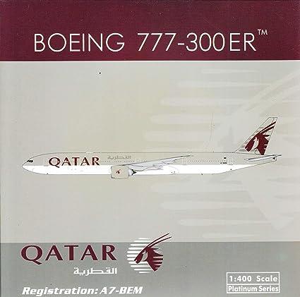 Phoenix 1:400 Qatar Airways Boeing 777-300ER Fifa Luchtvaart, ruimtevaart A7-BAX Vliegtuigmodellen