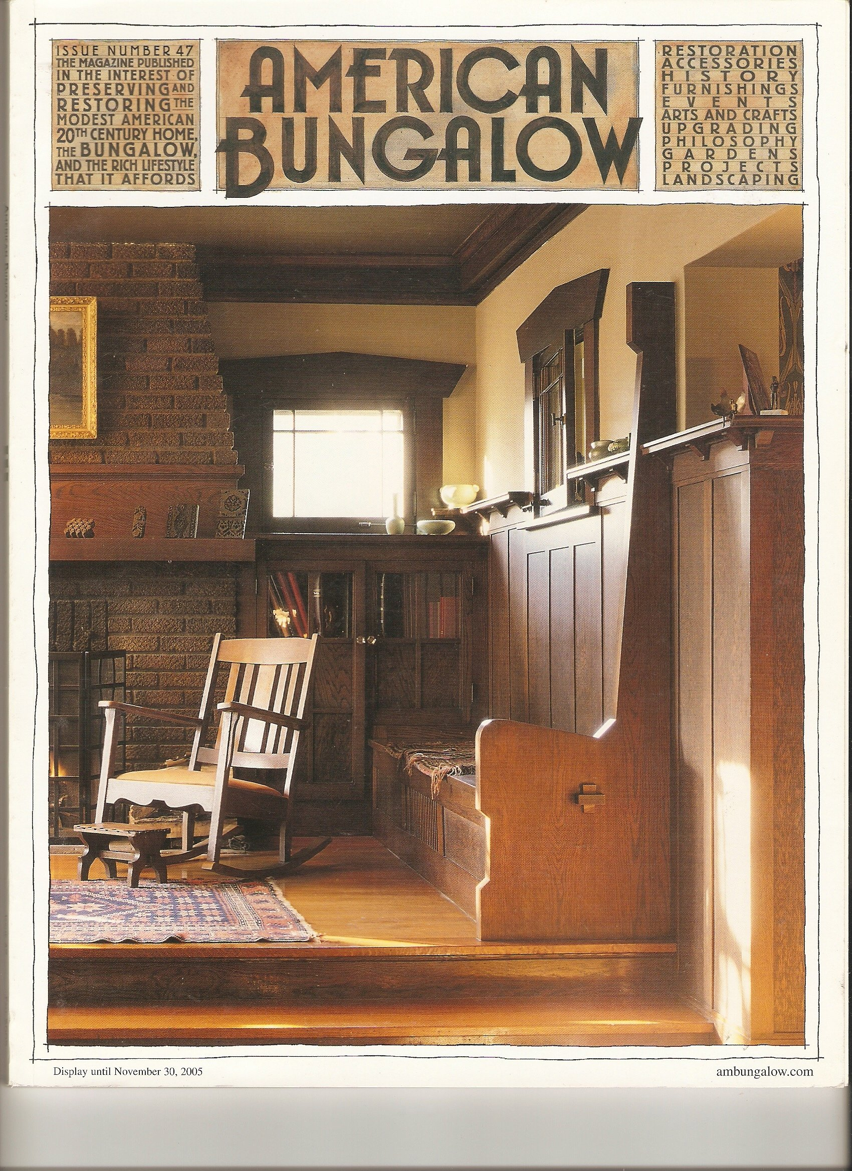 Download AMERICAN BUNGALOW Magazine, Fall 2005 Mail Order Houses and Arts and Crafts (Issue 47) PDF