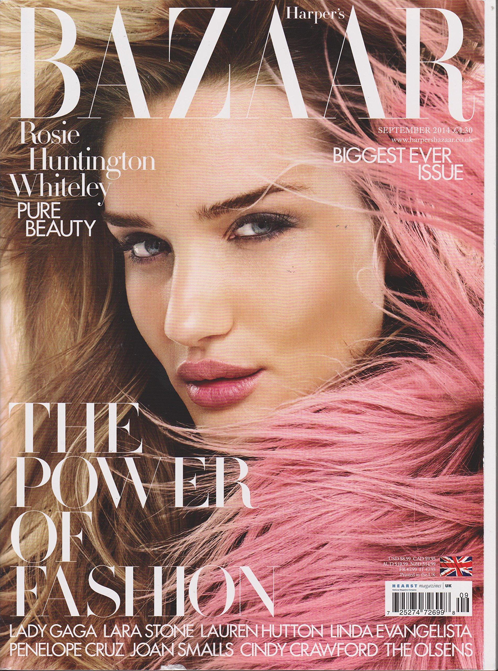 Harpers Bazaar Magazine - September 2014 Lady GaGa Cover: Amazon.es: Harpers Bazaar Magazine: Libros
