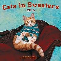 Cats in Sweaters 2016 Mini: 16-Month Calendar September 2015 through December 2016