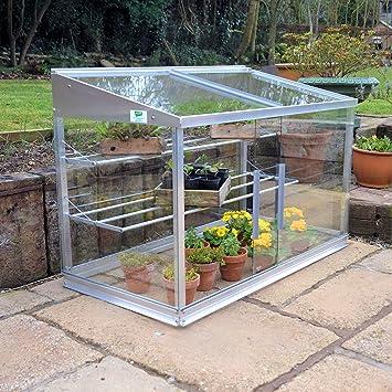 Access Half Growhouse, Mini Greenhouse, Cold Frame: Amazon.co.uk ...
