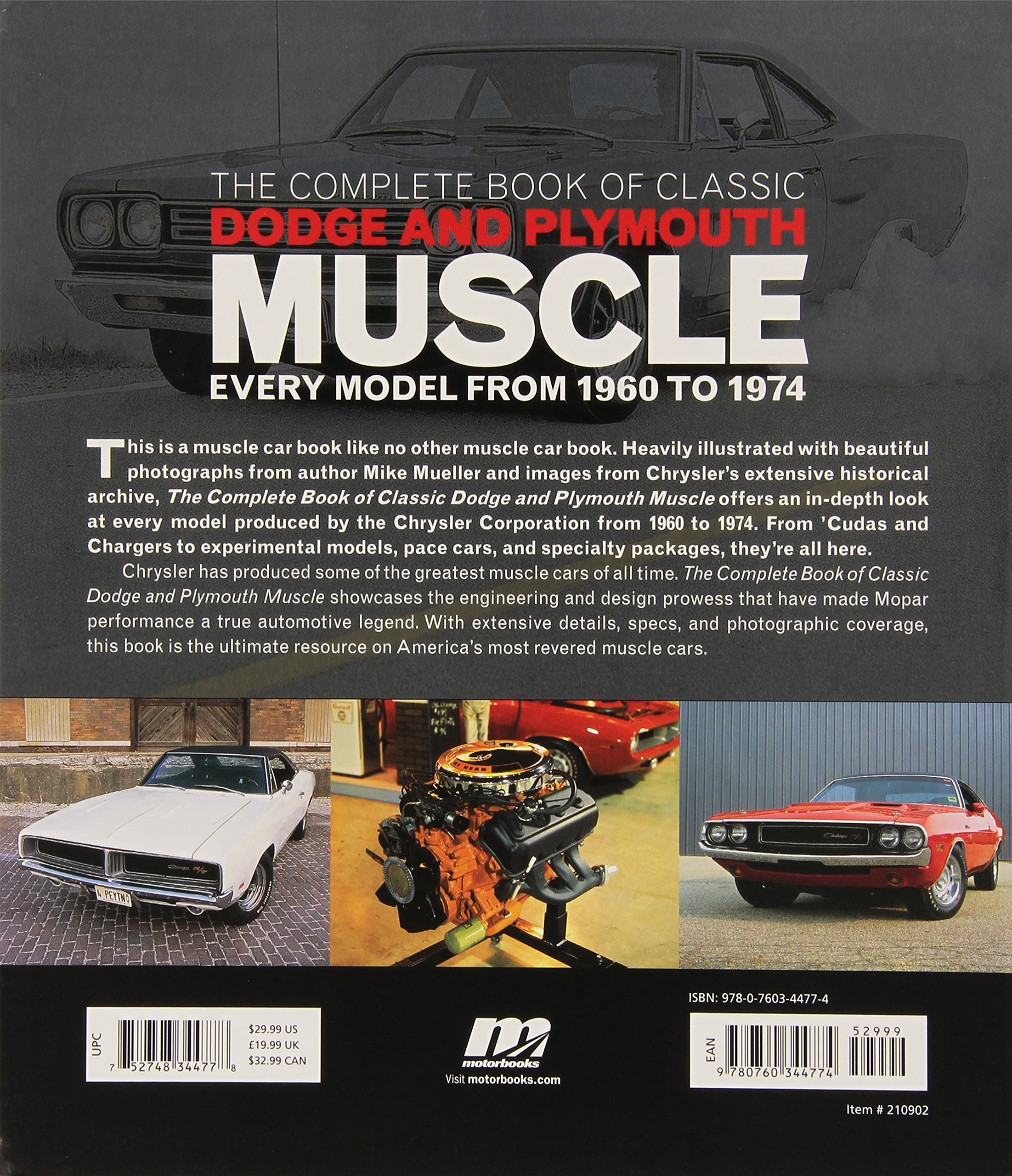 The Complete Book of Classic Dodge and Plymouth Muscle: Every Model from 1960 to 1974 (Complete Book Series) by Brand: Motorbooks (Image #3)