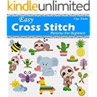 Easy Cross Stitch Patterns For Beginners: Cute Little Motifs (English Edition)