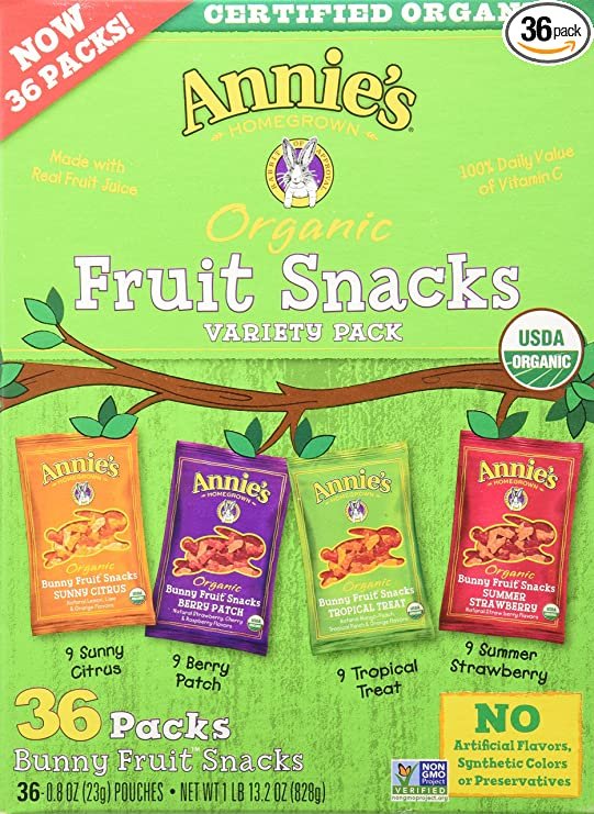 Annie's Homegrown Organic Vegan Fruit Snacks