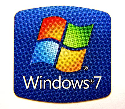 Windows 7 sticker decal logo badge replacement for laptop desktop notebook