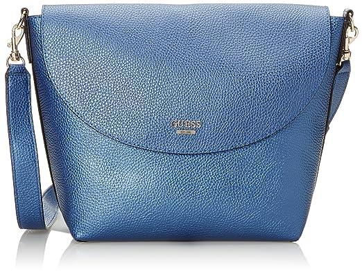 Guess Hwvg6422210, Borsa a mano Donna, Blu (Blue Cognac