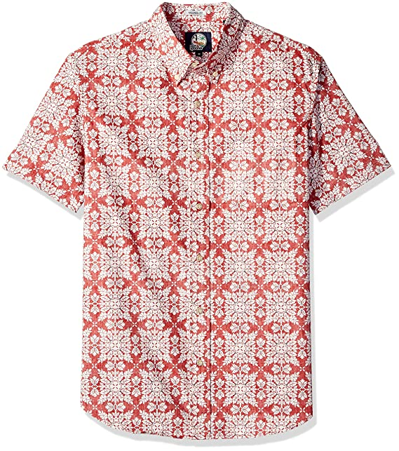 d2a8ab4a6 Reyn Spooner Men's Christmas Quilt Tailored Fit Hawaiian Shirt Button:  Amazon.co.uk: Clothing