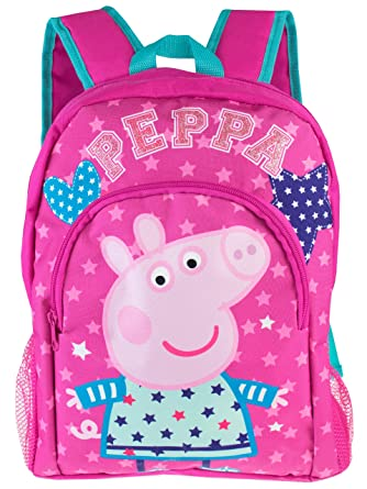 Rose Dos UniqueAmazon À Peppa Fille Sac Taille Pig nOk8N0XwP