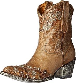 fe23fd30999 Amazon.com   Old Gringo Women's Klak Black Western Boots   Mid-Calf