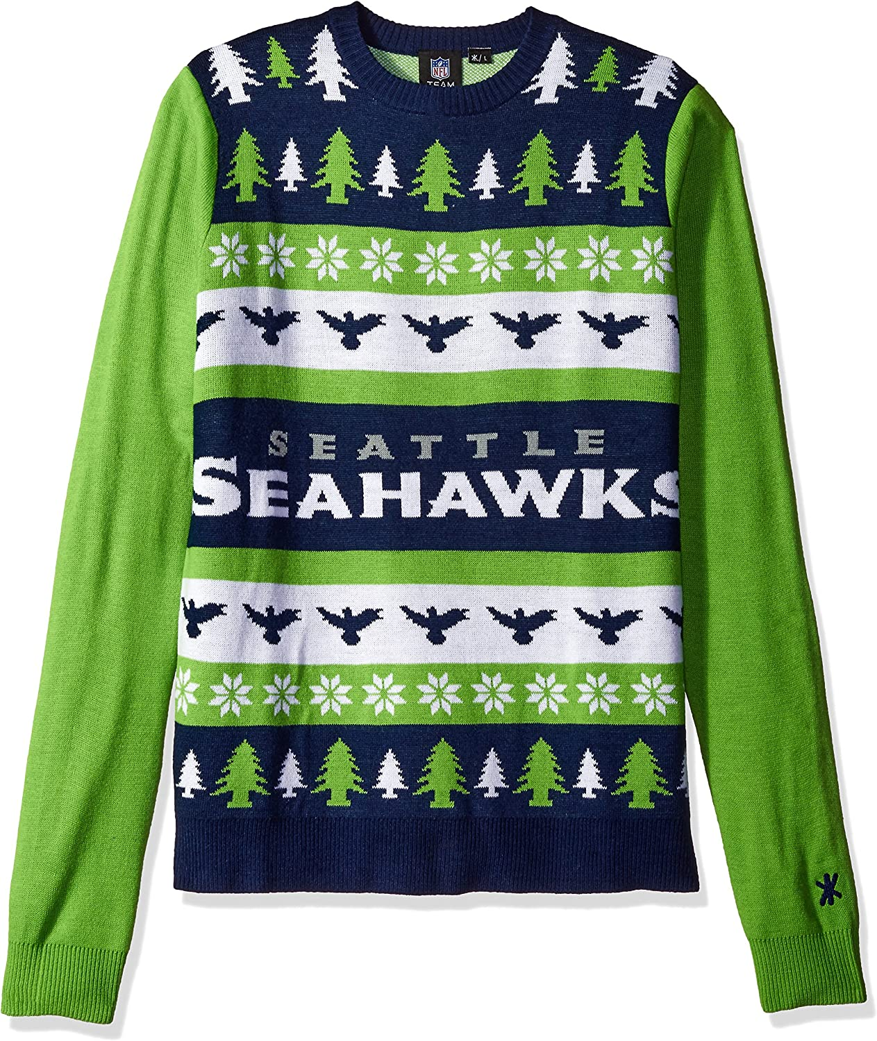 FOCO Unisex-Adult NFL Ugly Sweater Main