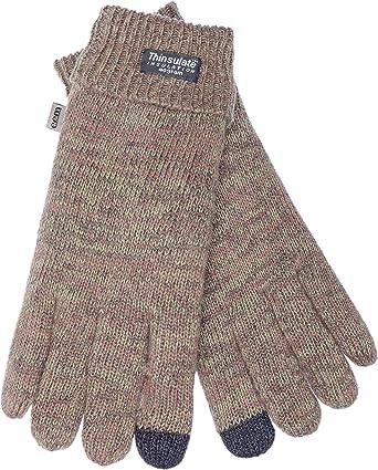 EEM pantalla táctil Guantes de Lasse IP para hombre con forro Thinsulate térmica, 100% Lana o 100% algodón, el material es farbabhän Gig, Smartphone Glove: Amazon.es: Ropa y accesorios