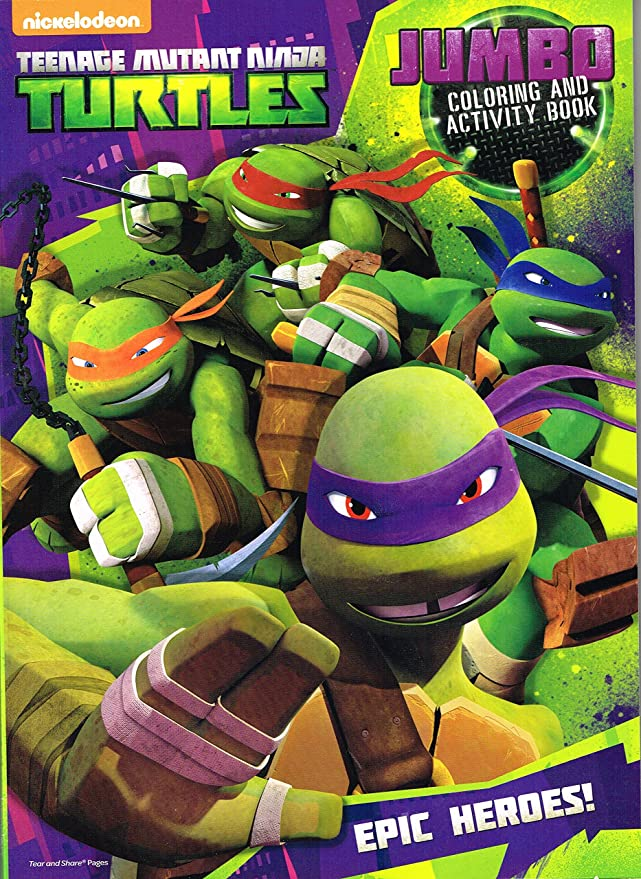 Amazon.com: TMNT Teenage Mutant Ninja Turtles para colorear ...
