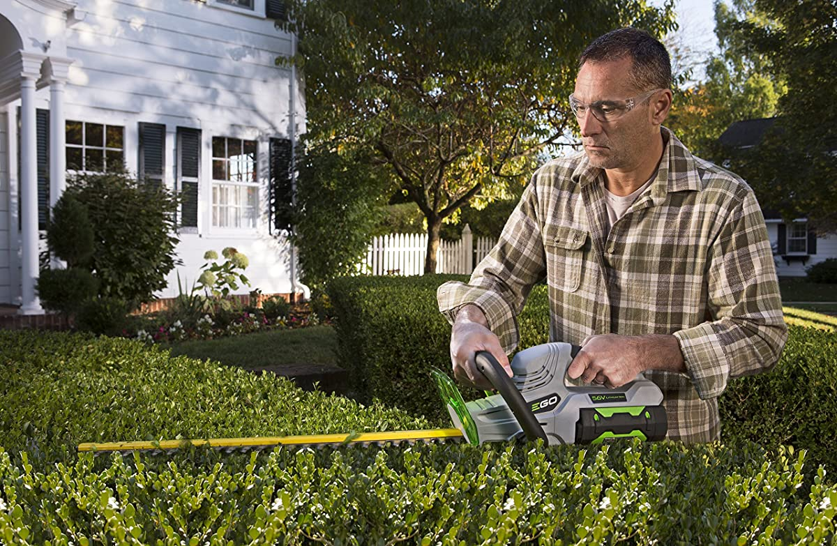 EGO Power+ 24-Inch 56-Volt Lithium-ion Cordless Hedge Trimmer - Battery and Charger Not Included