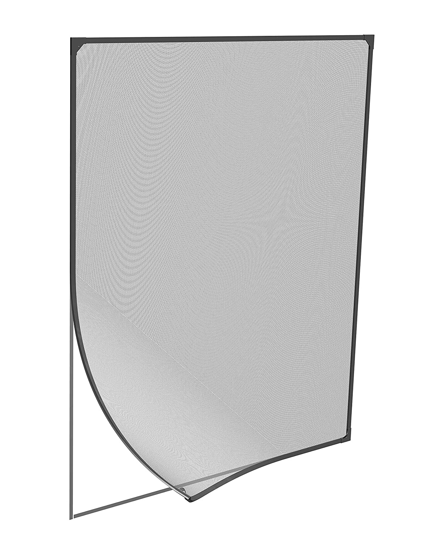 Windhager - Mosquitera para ventana con marco magnético, negro ...