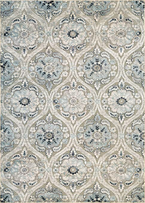 Awe Inspiring Couristan Cire Cherrington Greige Antique Cream Area Rug Caraccident5 Cool Chair Designs And Ideas Caraccident5Info