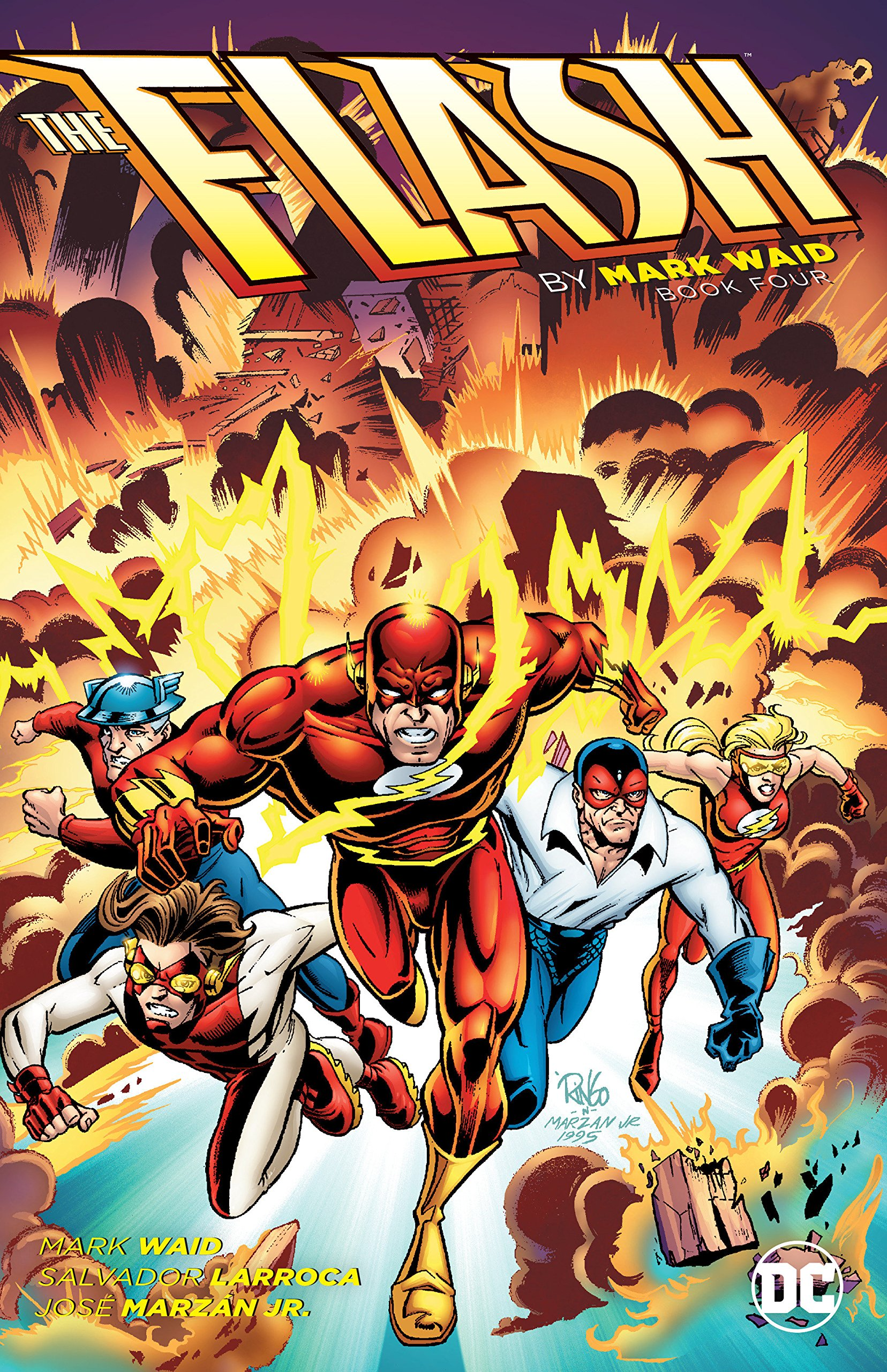 The Flash by Mark Waid Book Four ebook