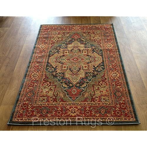 Preston Rugs Traditional Rug Oriental Persian Polypropylene 120 x 170 cm  (4u0027 x 5