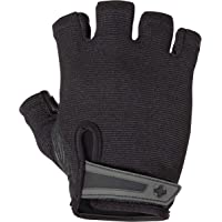 Harbinger Power Weightlifting  - Gloves with StretchBack Mesh and Leather Palm, Medium (Pair)